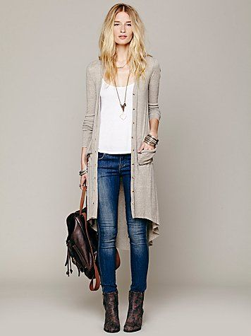 3 Ways to Style a Long Cardigan this Winter | Style Me Up ...