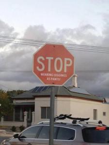 legging stop